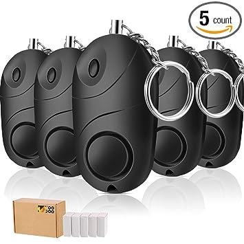 Amazon.com: mtlee paquete de 5 SafeSound alarma Personal ...