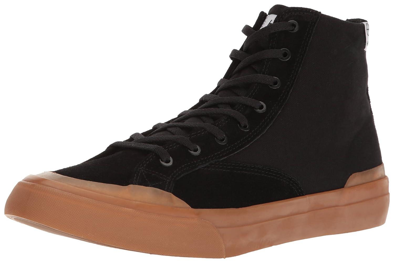 HUF Men's Classic Hi Ess Skateboarding Shoe 9 M US|Black/Gum