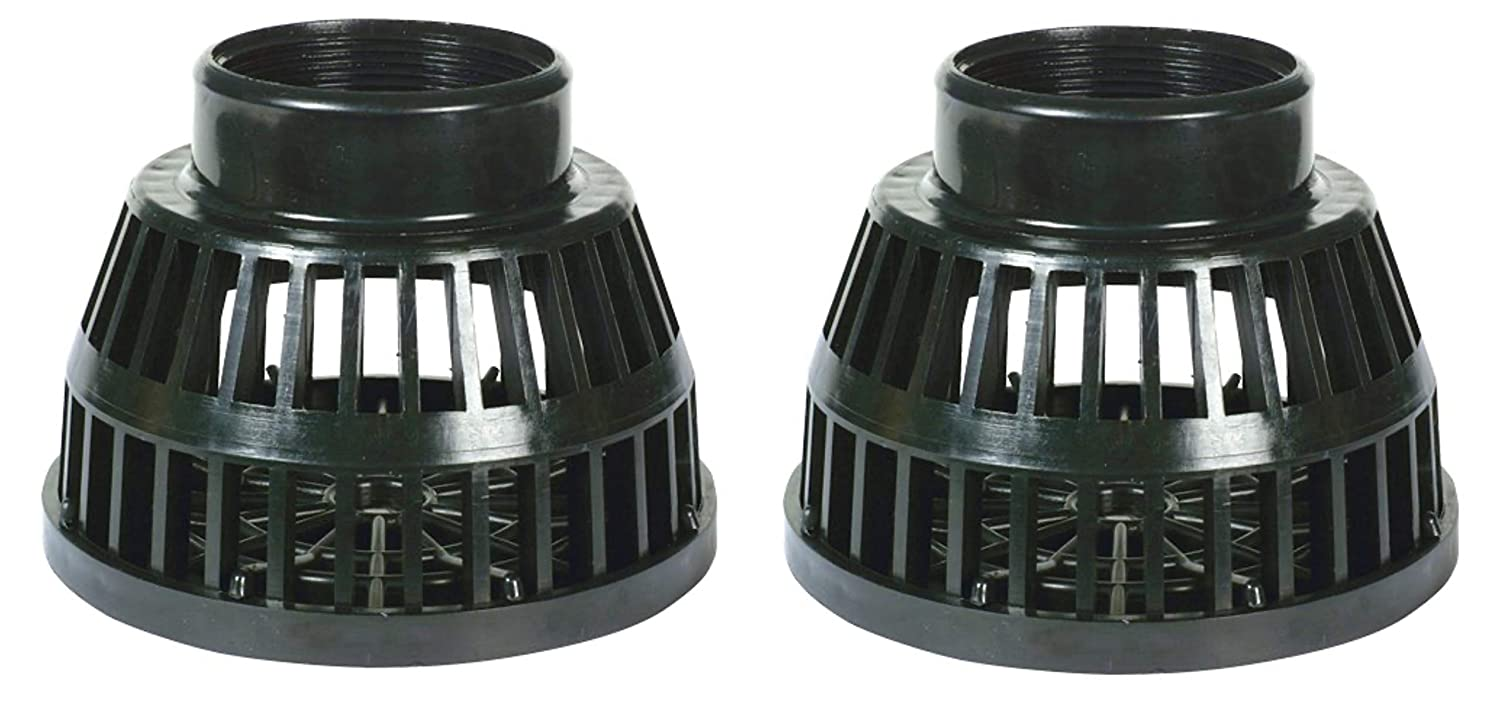 Plated Steel Apache 70009706 Square Hole Suction Strainers 3