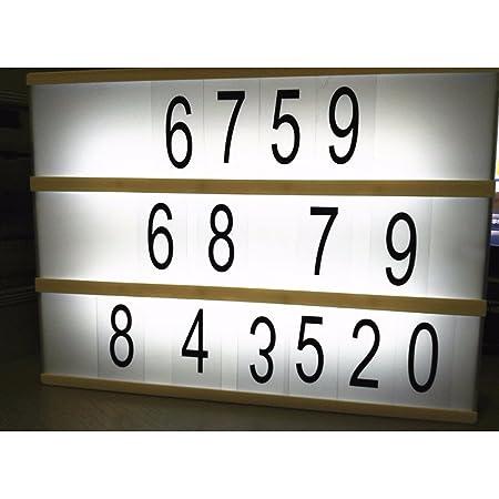 COOSA Las letras / A4 Figuras Números + Símbolos de dibujos ...