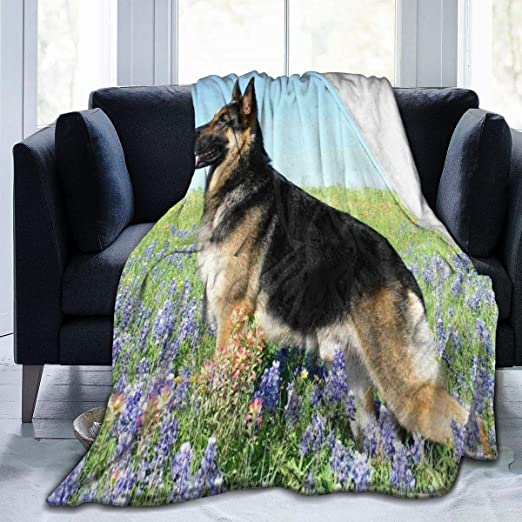 german shepherd flannel sheets