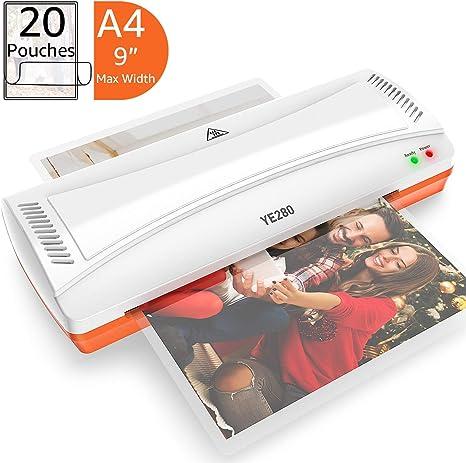 Amazon.com: YE280 - Máquina de laminación para A4/A6 ...