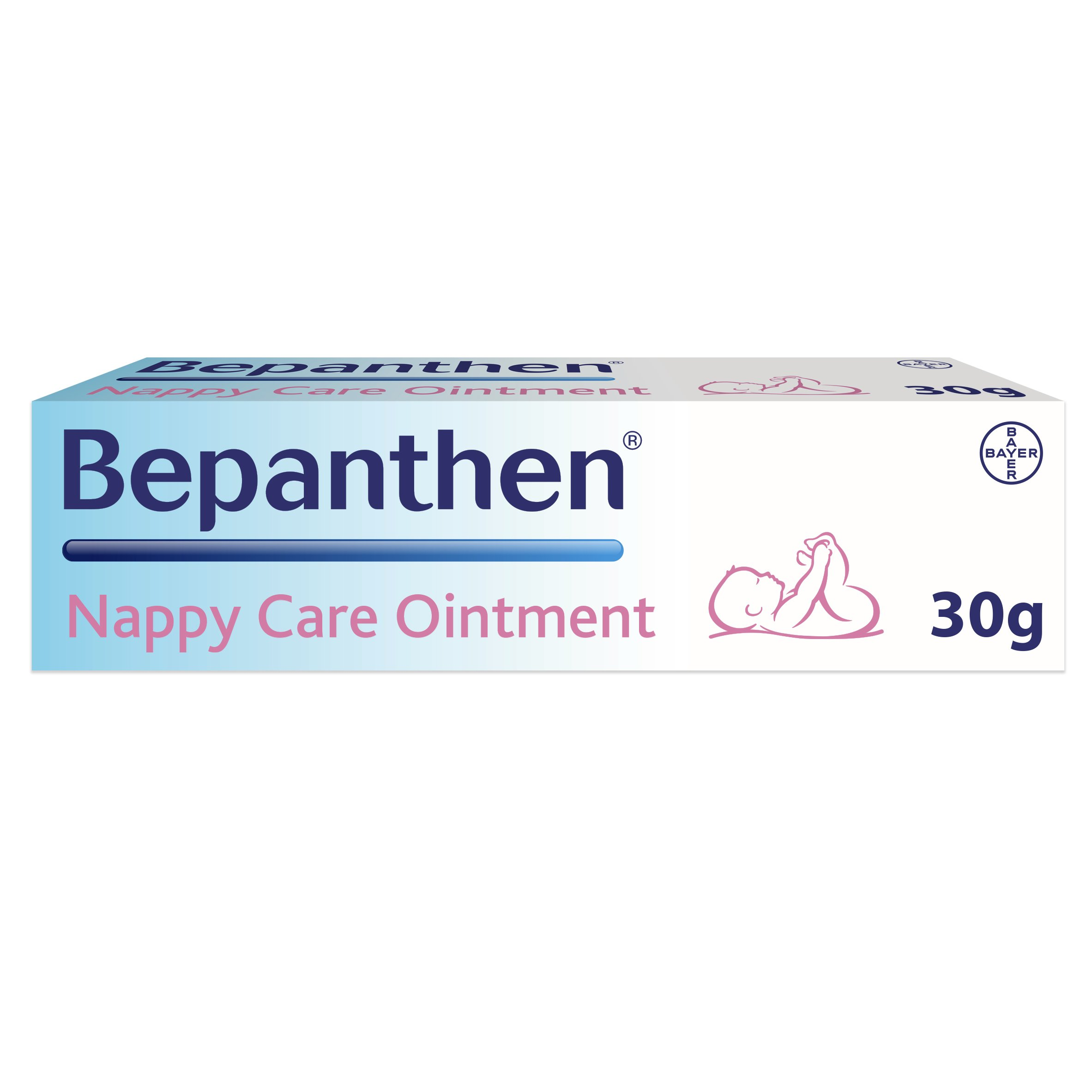 Bayer Bepanthen Diaper(Nappy) Care Ointment 30g by Bayer