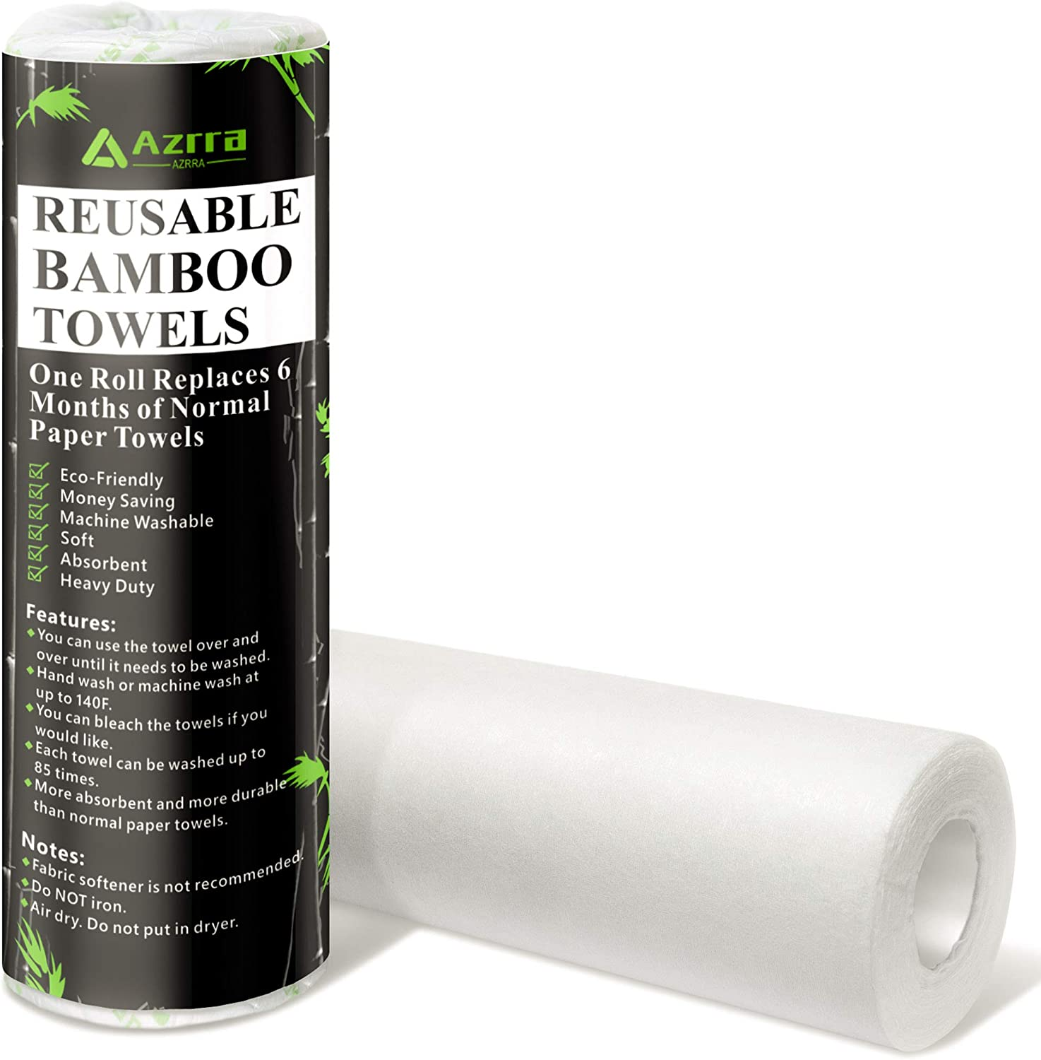 Reusable Bamboo Paper Towels 4 Pack from Grow Your Pantry