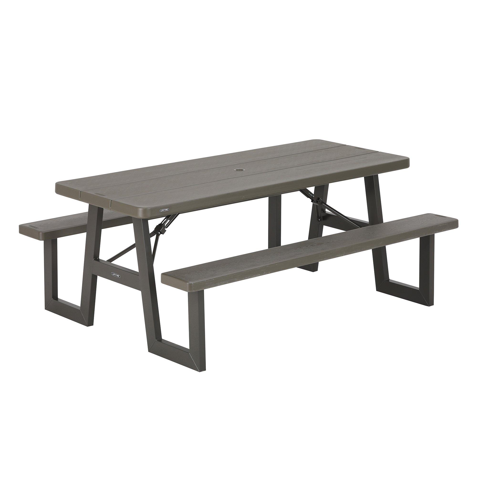 Lifetime 60233 W-Frame Picnic Table by Lifetime