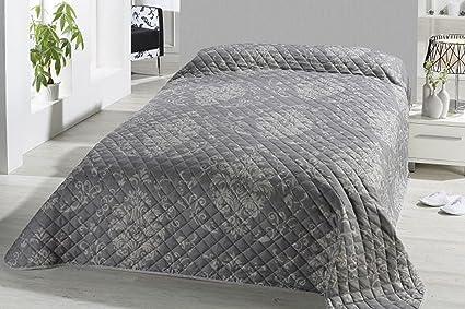 Fashion Joy Xl Bettüberwurf Tagesdecke Gesteppt 220x240 Steppdecke Barock Ornamente überwurf ökotex Decke Typ456 Amazon De Küche Haushalt