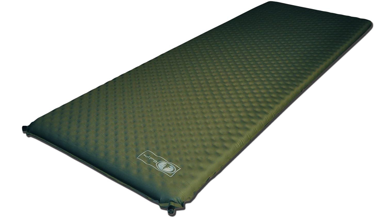 Black Pine Moonwave 3-Inch Self-Inflating Camping Mat, Green by Black Pine   B009PL2ORM
