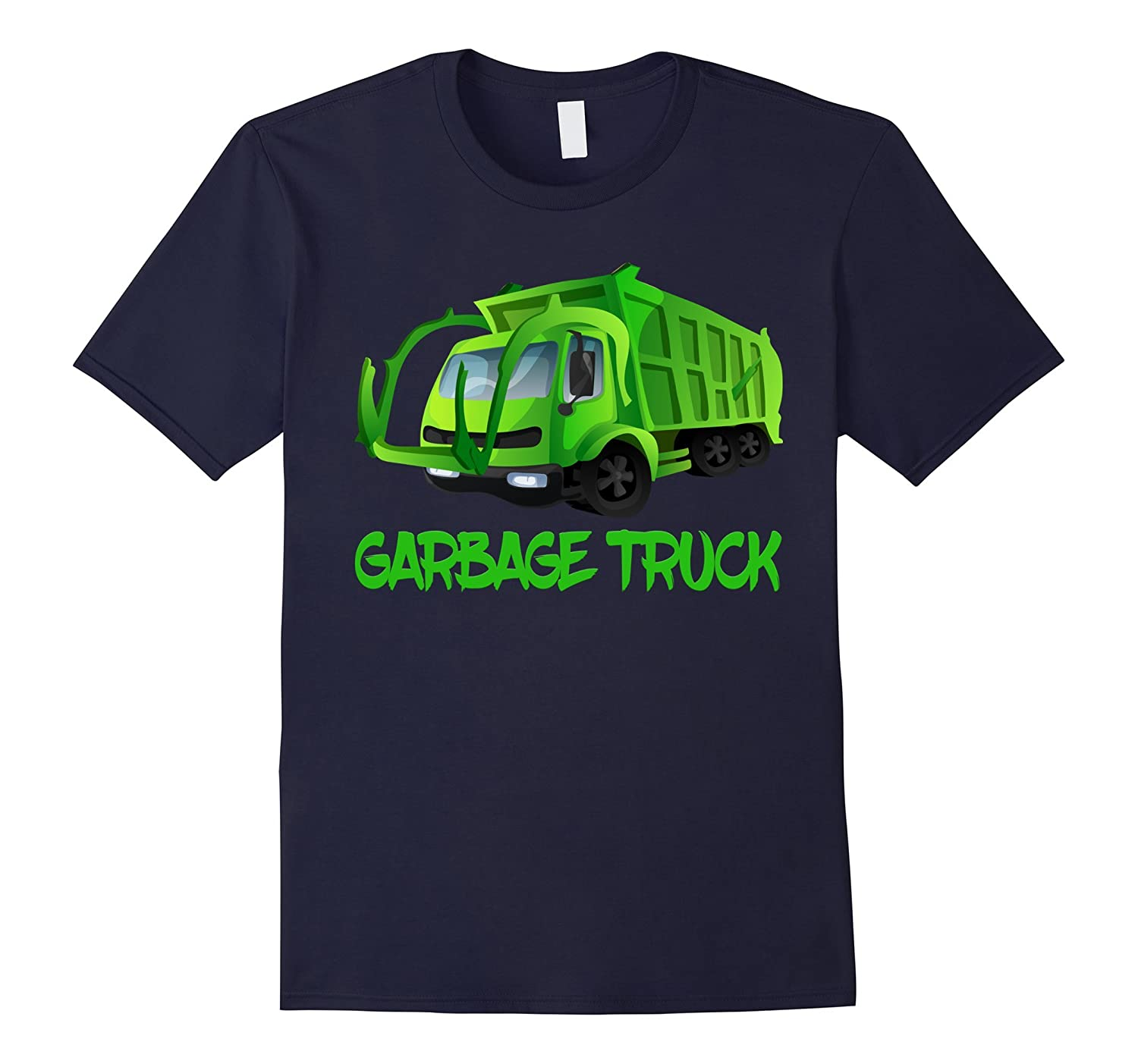 Garbage Truck Trash Pickup Recycle Boy Can Recycle T-Shirt-CD