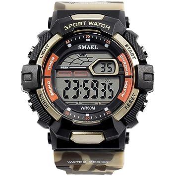 Blisfille Reloj Hombre Relojes Mujer Reloj de Oro Mujer Reloj Hombre Elegante Digital Relojes Digitales: Amazon.es: Deportes y aire libre