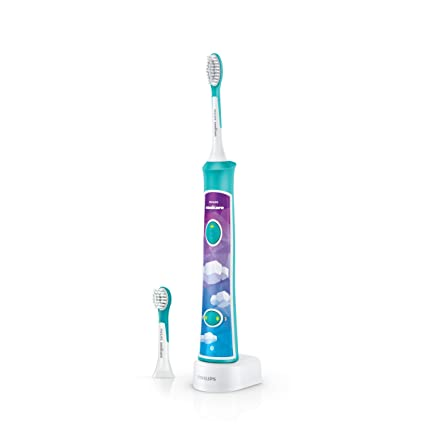 Philips Sonicare For Kids HX6322/04 - Cepillo de dientes eléctrico, multicolor [importado