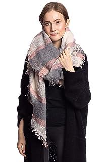 Abbino CG005 Schals für Frauen Damen - Viele Farben - Übergang Frühling Sommer  Herbst Damenschals Umschlagtücher 7500b73ab0