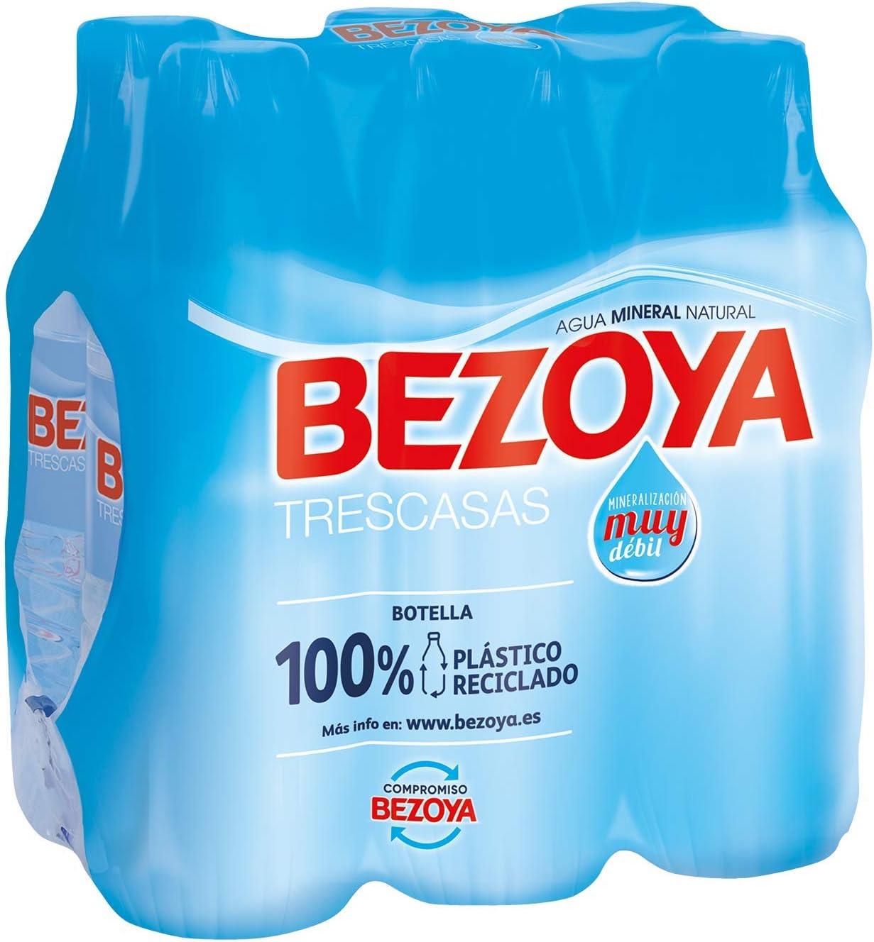 Bezoya - Agua Mineral Natural - Pack 6 x 50 cl: Amazon.es: Alimentación y bebidas