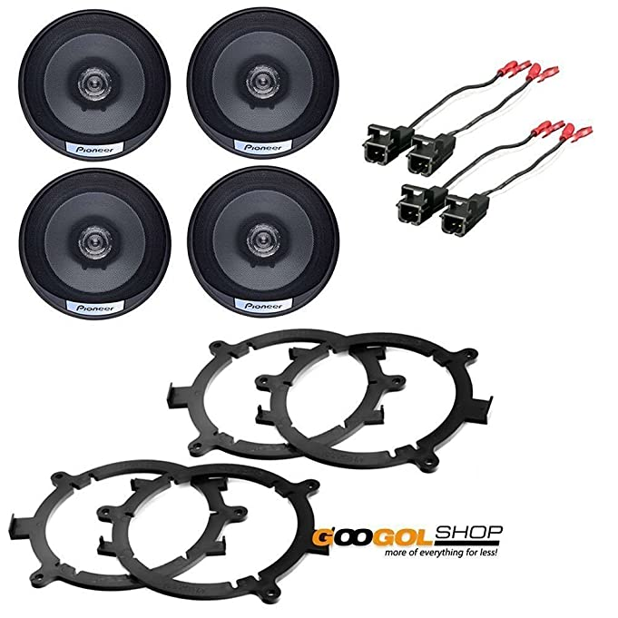 71NzpQWTIUL._SX681_ amazon com coaxial speakers speaker adapters car stereo wiring car stereo wiring harness connectors at cos-gaming.co