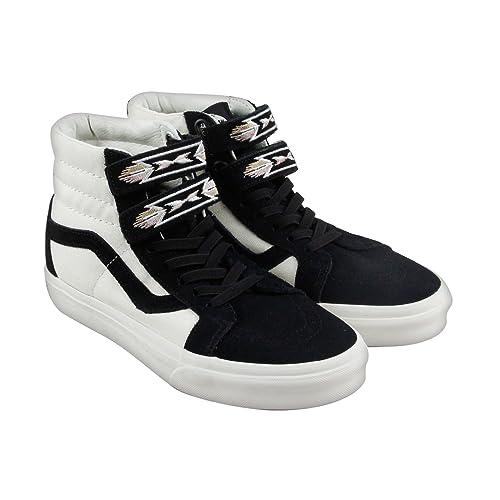 Vans Zapatillas de Lona para Hombre Negro Negro: Amazon.es