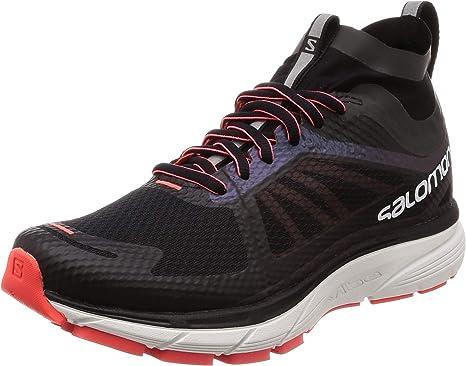 Salomon Sonic Ra Nocturna w – Zapatillas de Running para Mujer, L40259600, Black/White/Fiery Coral, 38: Amazon.es: Deportes y aire libre