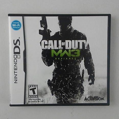 Call of Duty: Modern Warfare 3 (Nintendo DS) by ACTIVISION: Amazon.es: Videojuegos