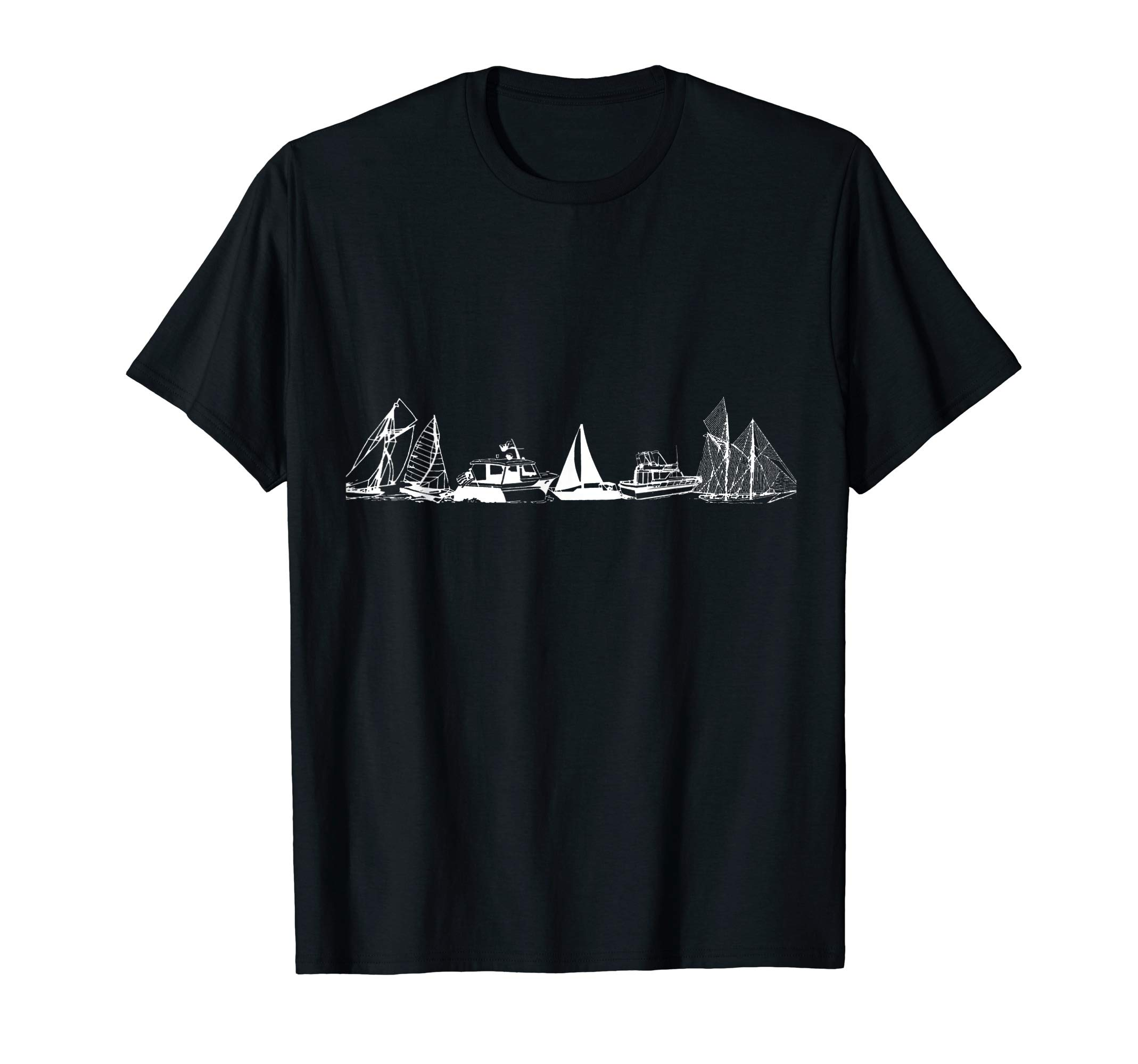 Sailing or Motor Boating  T-Shirt by Sailing and Motor Boating Co