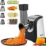 Homdox Salad Maker Electric Slicer Shredder Greater Electric Cheese Grater Salad Maker Machine Carrot Slicer with 4…