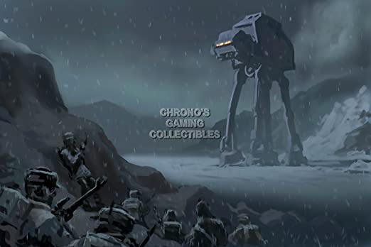 CGC - Star Wars Battlefront enorme cartel - Concept Art PS4 - XBOX ...