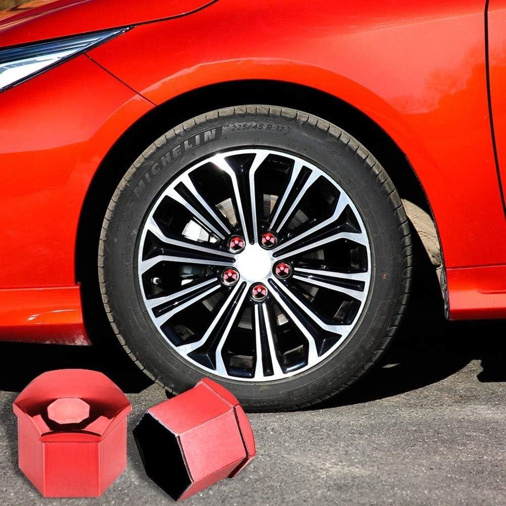 Tuercas de rueda de 19 mm color: azul 20 piezas de tuercas de rueda de coche