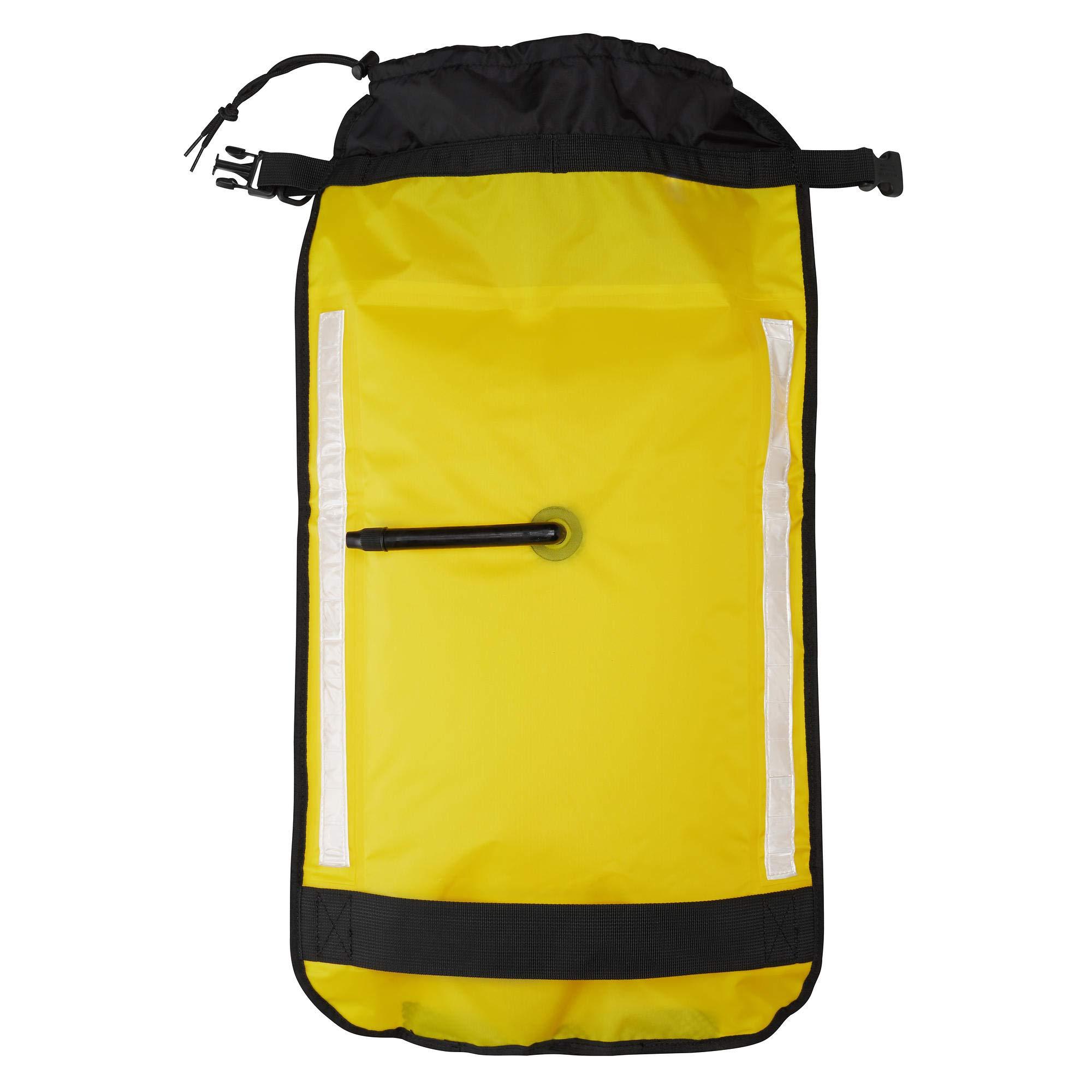 NRS Sea Kayak Paddle Float Yellow One Size