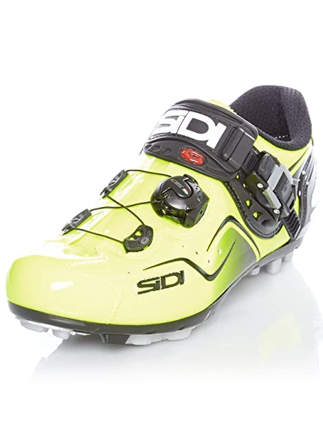 Zapatillas MTB Sidi 2018 Cape Amarillo Fluorescent: Amazon.es: Zapatos y complementos