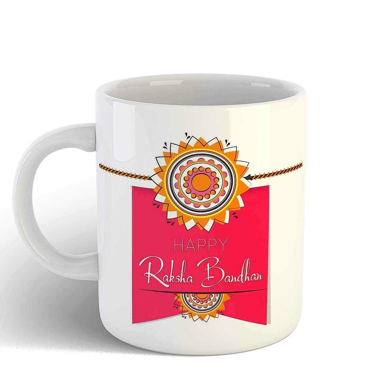 Buy Ikraft Happy Raksha Bandhan Coffee Mug For Brother Rakhi Gift For Sister Rakshabandhan Gift Idea For Bro Sis Online At Low Prices In India Amazon In
