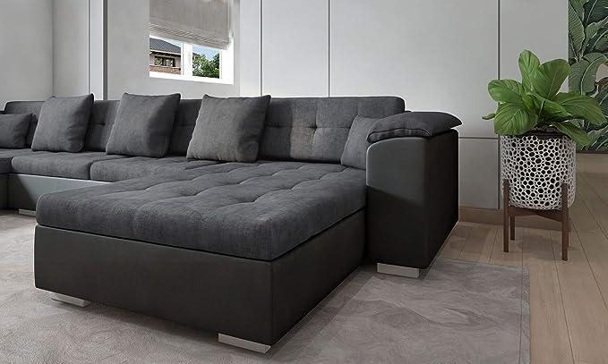 tendencio - Sofá de Esquina panorámico Atrium en U, 6 a 7 ...
