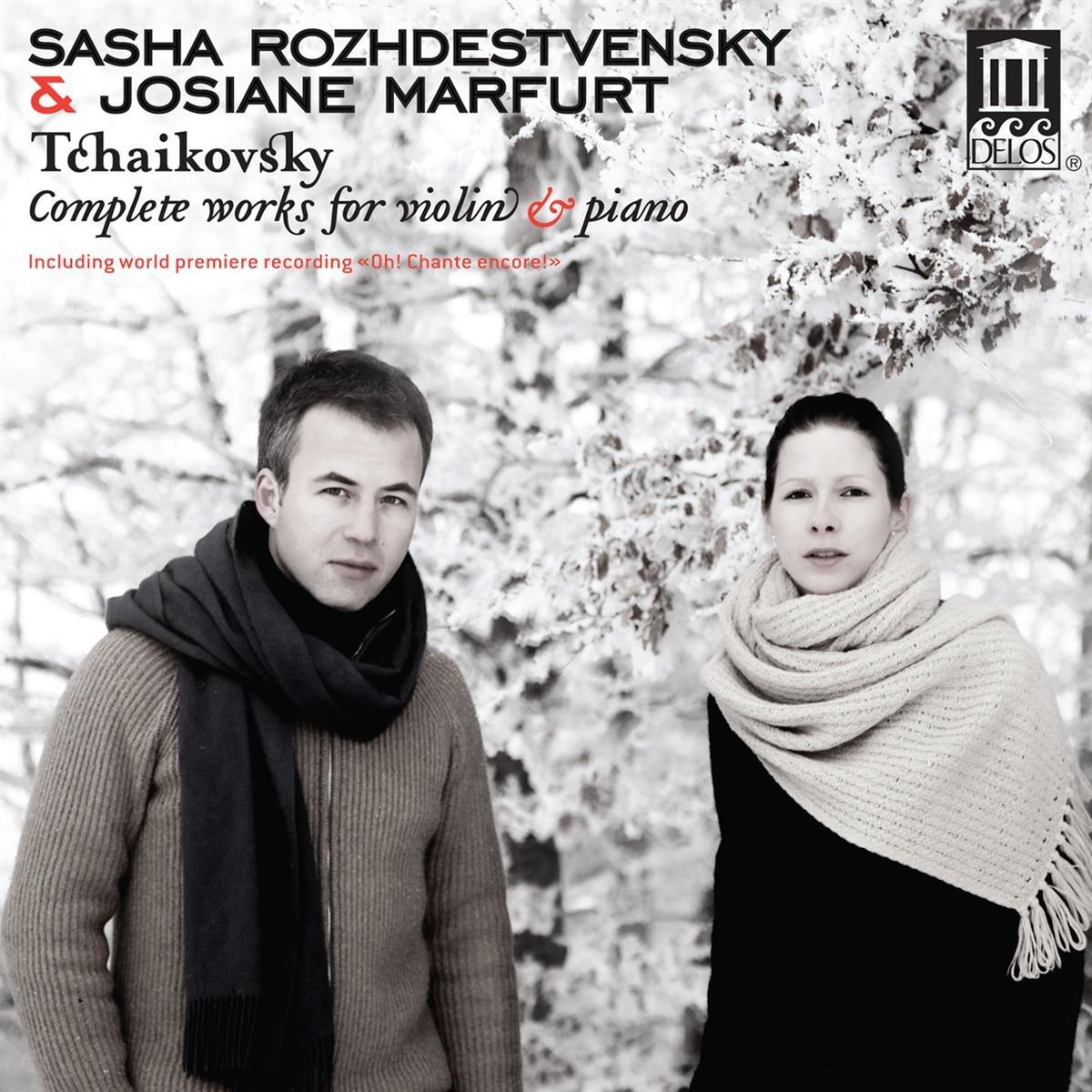 CD : Sasha Rozhdestvensky - Complete Works For Violin & Piano (CD)