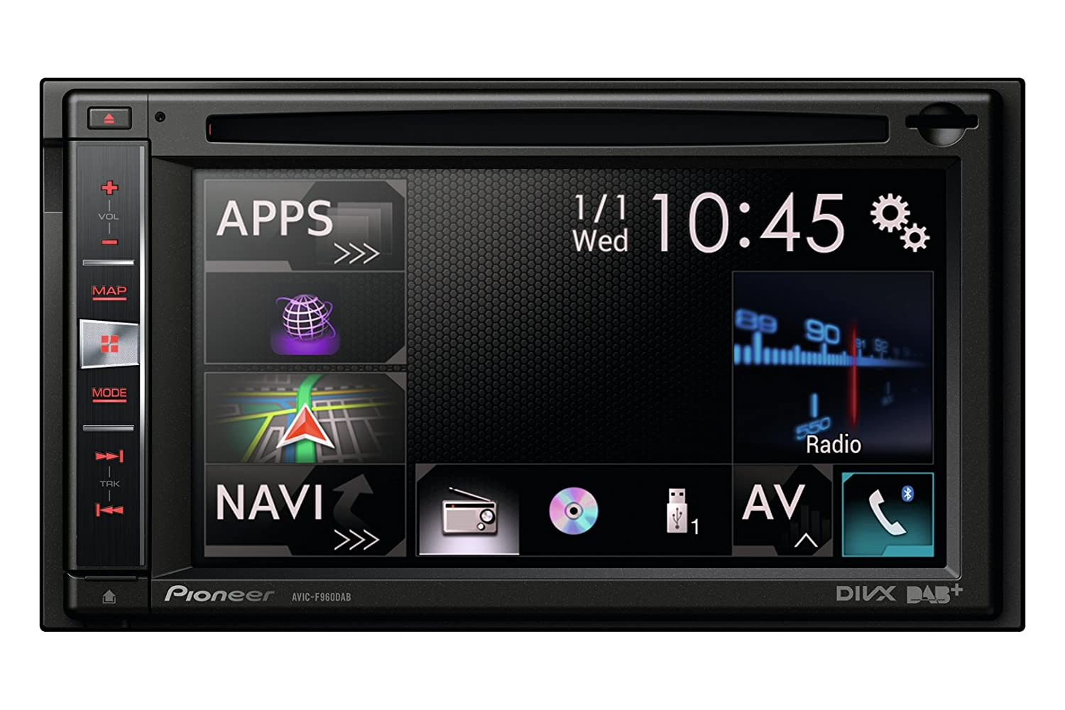 DOWNLOAD DRIVERS: PIONEER AVIC-F960DAB RECEIVER