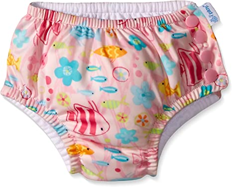 i Play by Green Sprouts Baby Snap Reusable Swim Diaper