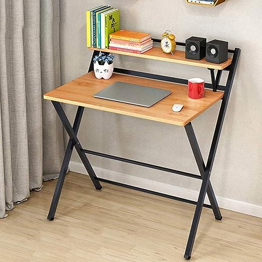 LF-chair Escritorio de computadora Simple, Mesa Plegable Moderna ...