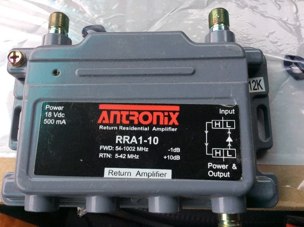 ANTRONIX HIGH POWERED 18v DC AMPLIFIER Forward Return AMP FRA1-1510 CABLE BOOST