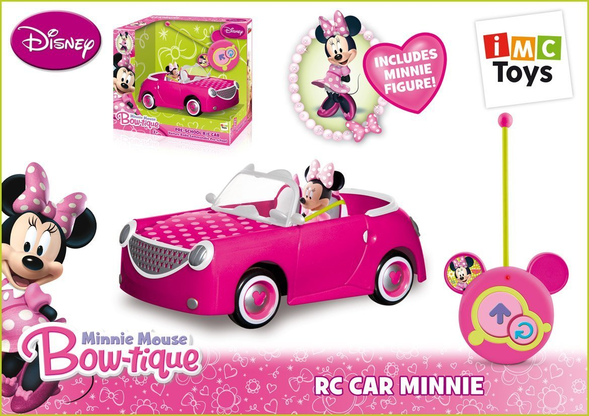 Amazon Es Imc Toys 43 181199 Coche Minnie Radiocontrol