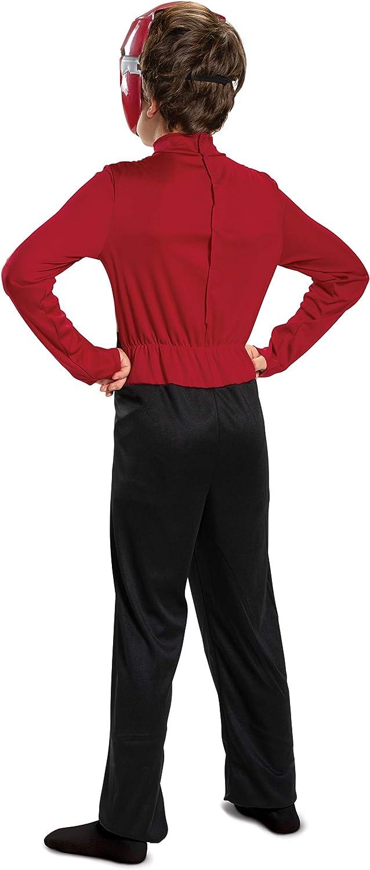 Red Power Ranger Beast Morphers Basic Boys Costume