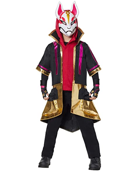 Spirit Halloween Boys 2,Fer Drift Fortnite Costume