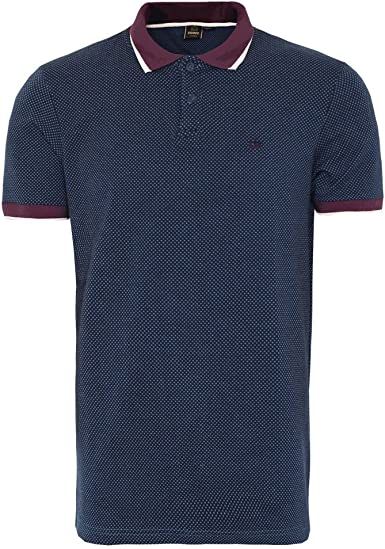 Merc of London - Polo - para Hombre Azul Small: Amazon.es: Ropa ...