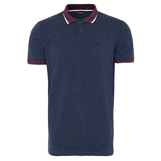 Merc of London - Polo - para Hombre Azul Small: Amazon.es: Ropa y ...