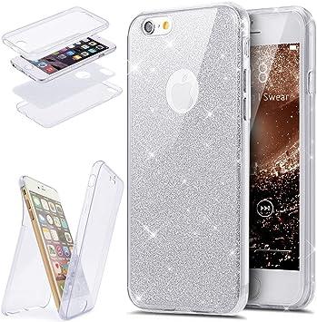 coque iphone 7 360 paillette