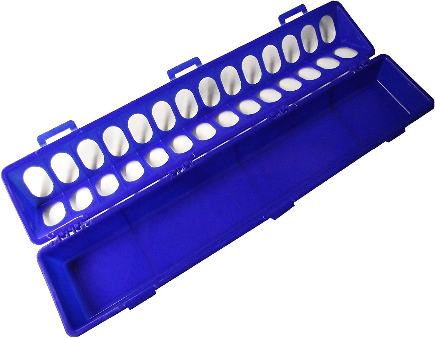 20 BLUE RITE RARM PRODUCTS POLY FLIP TOP CHICKEN FEEDER 28 HOLE FOR POULTRY CHICK