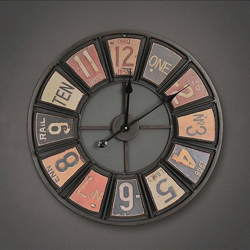 GAOLILI Openworkの壁の壁の装飾の時計家の使用クリエイティブの壁時計の居間の装飾の壁の時計 ( 色 : A ) B07C3V2MX9 A A