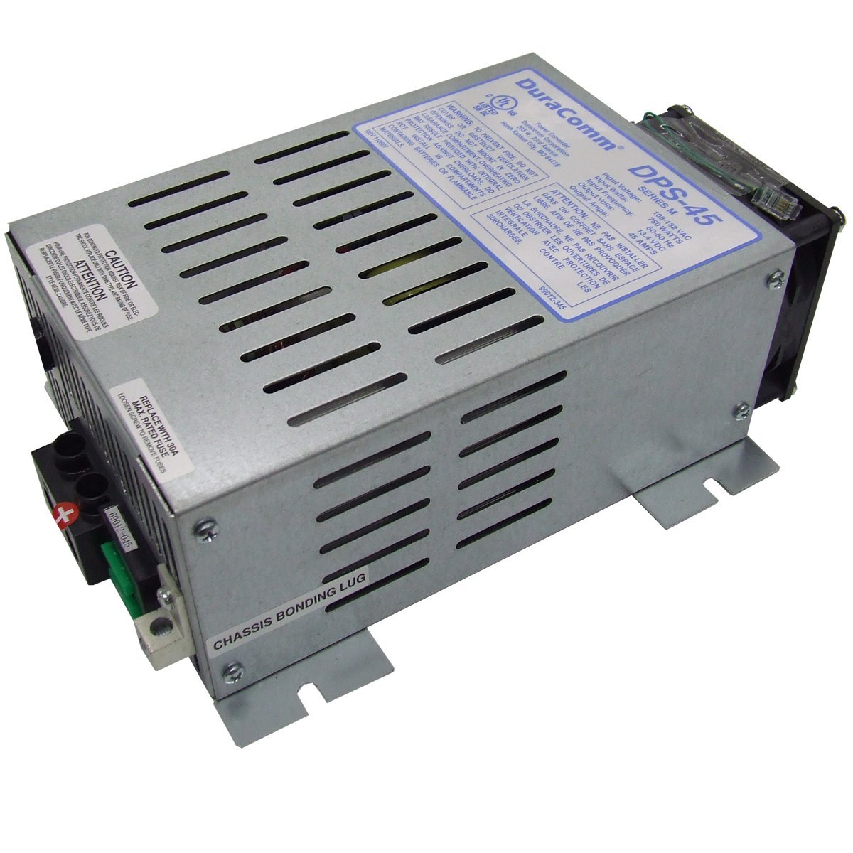 DuraComm DPS-45 Power Source Utilities with Low Noise Supply