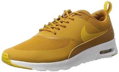 new arrivals 265a1 ed6e1 Nike Air Max Thea 599409 Damen Laufschuhe, Gelb (Desert Ochregold Dart