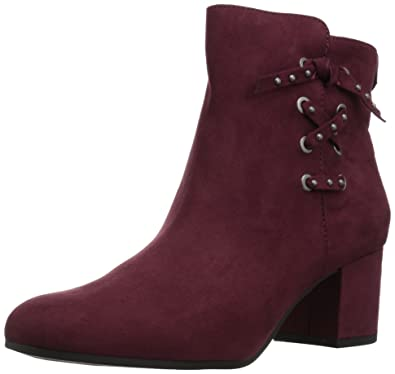 3ba991d037659a Circus by Sam Edelman Women s Vinnie Wine Microsuede 5 M US