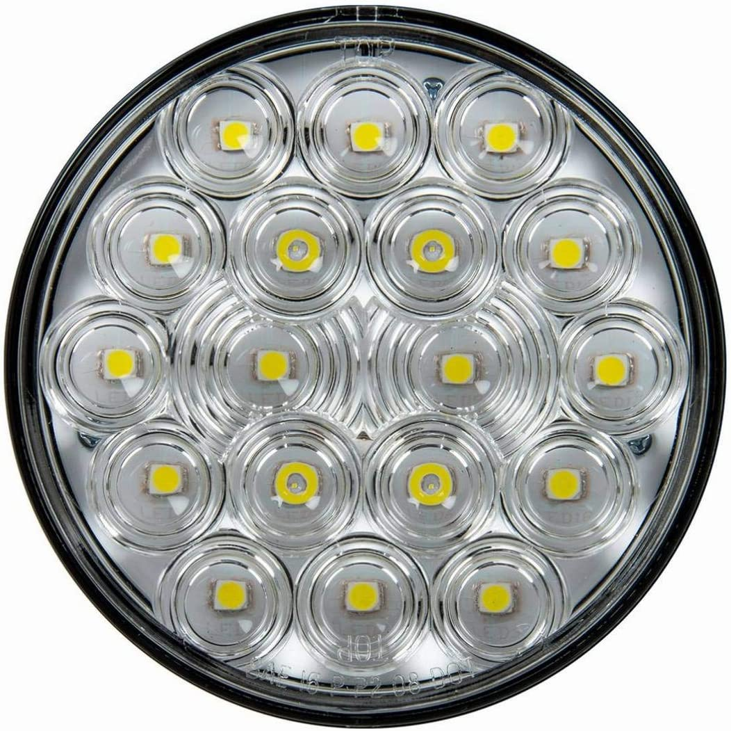 GG Grand General 76447 4 Inches Fleet Red//Red 18 LED with 3 Pin Sealed Light