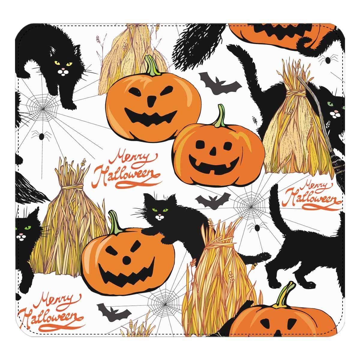 InterestPrint Womens Halloween Cute Ghosts Clutch Purse