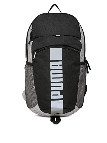 49502b81f8db (CERTIFIED REFURBISHED) Puma 21 Ltrs Puma Black Puma White Reflecti Laptop  Backpack (7470701)  Amazon.in  Bags