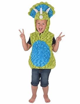 Generique - Disfraz Dinosaurio Verde y Azul niño 18-24 Meses (86 ...