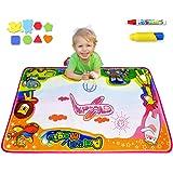 "Ubetoone Aqua Magic Mat Kids Toys Water Doodle Drawing Pad Large for Boys Girls Toddlers Gift Size 34.6 X 22.8"""