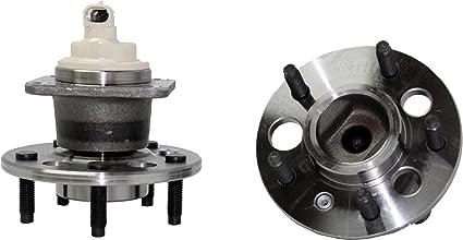 Rear Wheel Hub /& Bearing For 1997-1999 Chevy Monte Carlo FWD w// ABS Sensor